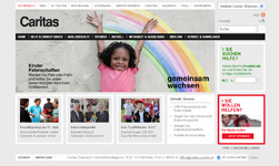 Caritas Webseitenfamilie